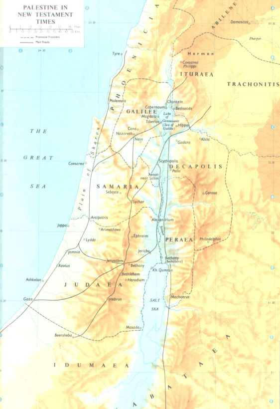 Palestine in the New Testament Times